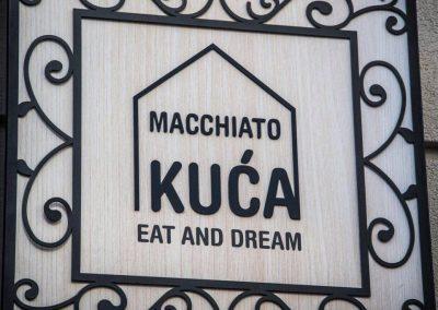 Macchiato kuća, Novi Sad, Srbija
